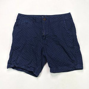 American Eagle Prep Fit Mens Size 32 Navy Shorts